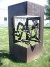 donald mee - large scale out door sculpture